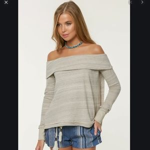 O'neill Lhani Off the Shoulder Top